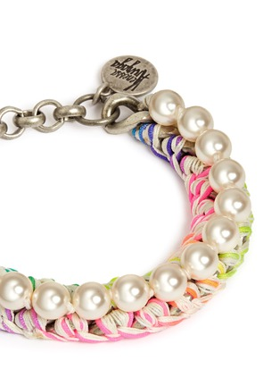 Detail View - Click To Enlarge - Venessa Arizaga - 'Pretty Pearl' bracelet
