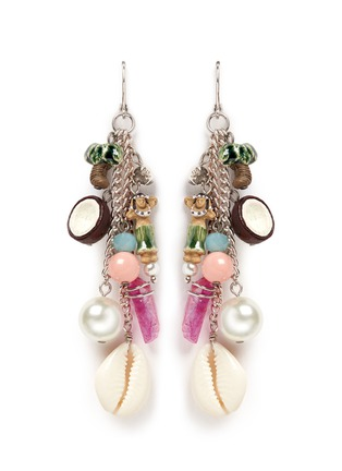 Main View - Click To Enlarge - Venessa Arizaga - 'Sea Fairy' drop earrings
