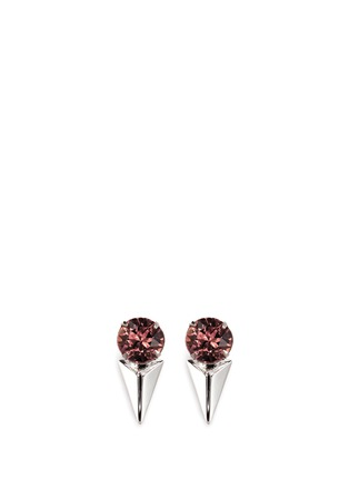 Main View - Click To Enlarge - Joomi Lim - 'Vicious Love' crystal spike drop earrings