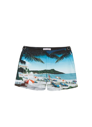 Main View - Click To Enlarge - Orlebar Brown - Setter Hulton Getty' beach print swim shorts