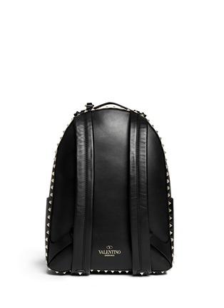 Valentino-'Rockstud' medium stud leather backpack