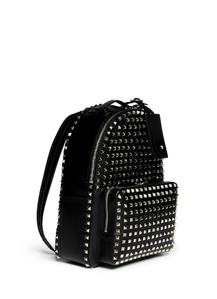 Figure View - Click To Enlarge - Valentino - 'Rockstud' medium stud leather backpack