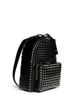 'Rockstud' medium stud leather backpack