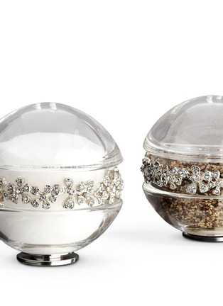 L'Objet - Garland Salt and Pepper Shaker - Platinum