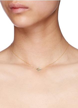 Bao Bao Wan-'Little Pagoda' 18k gold diamond necklace