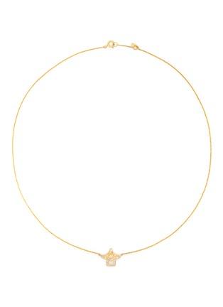 首图 - 点击放大 - BAO BAO WAN - 18K黄金钻石凉亭项链
