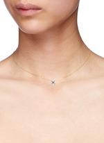 'Little Jin Qian' 18k gold diamond necklace