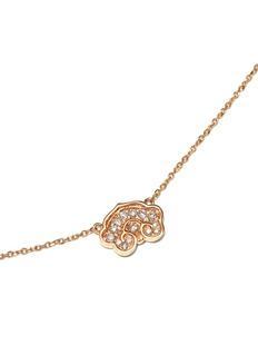 Bao Bao Wan 'Little Ruyi' 18k gold diamond necklace