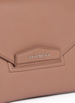 Antigona leather envelope clutch