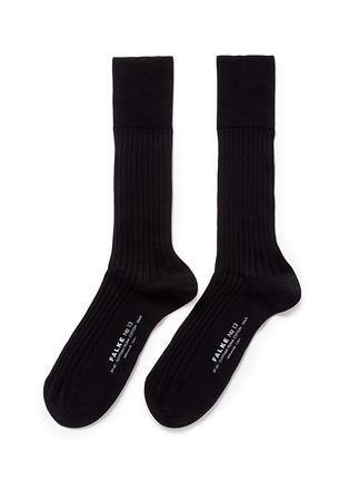 FALKE-单色压纹及膝袜