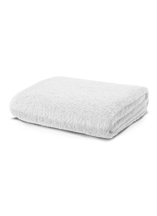 Main View - Click To Enlarge - Abyss - Super Pile bath sheet — White