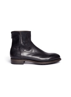 Project TWLV'Flame' cordovan leather boots