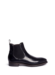 Project TWLV 'Hanoi' cordovan leather Chelsea boots