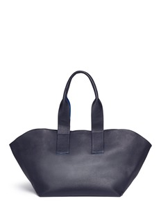 A-Esque'Carry All' reversible leather tote