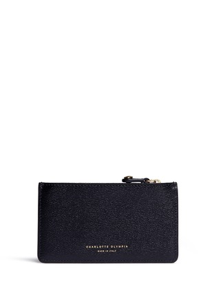 Figure View - Click To Enlarge - Charlotte Olympia - 'Feline' cat face coin pouch