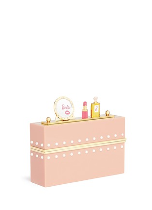 Detail View - Click To Enlarge - Charlotte Olympia - x Barbie® 'Barbie World' Perspex clutch