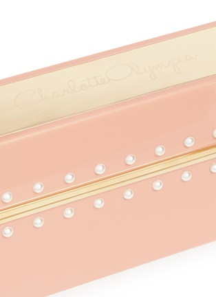 - Charlotte Olympia - x Barbie® 'Barbie World' Perspex clutch