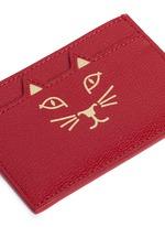 'Feline' cat face card holder