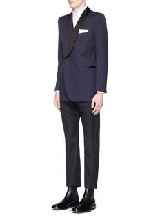 BalenciagaSlim fit stretch poplin shirt
