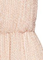 'Mika' bead embellished silk romper