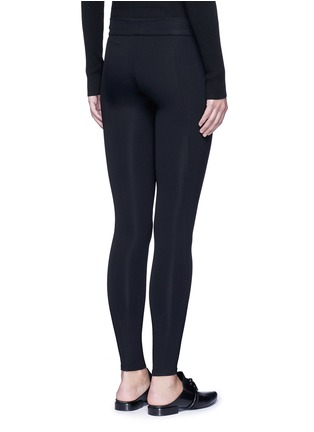 Back View - Click To Enlarge - The Row - 'Relma' scuba leggings