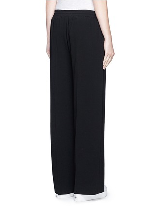 Back View - Click To Enlarge - Vince - Elastic waist wide leg pants