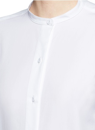 Detail View - Click To Enlarge - Ports 1961 - Tassel side poplin shirt