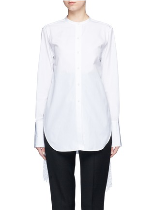 Main View - Click To Enlarge - Ports 1961 - Tassel side poplin shirt