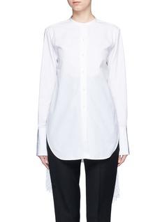 Ports 1961Tassel side poplin shirt