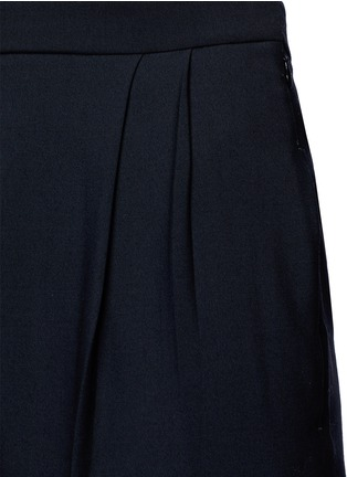 Detail View - Click To Enlarge - The Row - 'Sea' high waist pleat leg gabardine pants