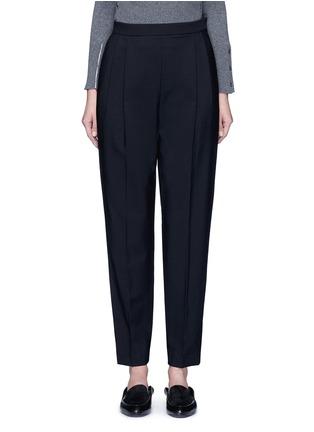 The Row-'Sea' high waist pleat leg gabardine pants
