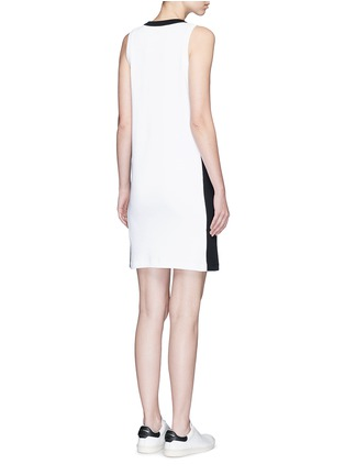 Back View - Click To Enlarge - rag & bone - 'Sam' contrast sport stripe jersey dress