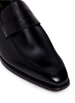 'George' leather penny loafers