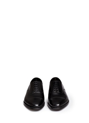 Front View - Click To Enlarge - George Cleverley - 'Michael' leather Oxfords