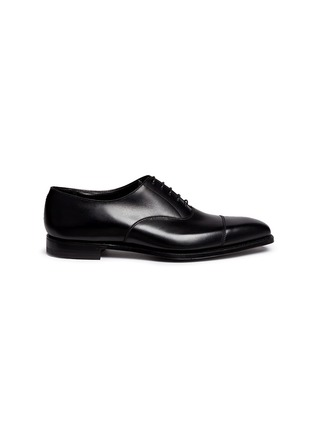 Main View - Click To Enlarge - George Cleverley - 'Michael' leather Oxfords