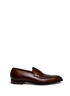 George Cleverley 'George' leather penny loafers