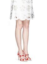 'Campari' dot print canvas Mary Jane pumps