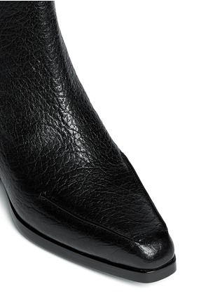 Detail View - Click To Enlarge - 3.1 Phillip Lim - 'Newton' contrast heel leather Chelsea boots