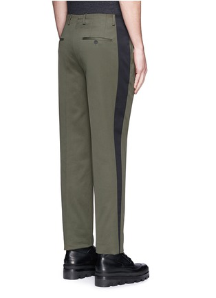 Back View - Click To Enlarge - Balenciaga - Side stripe washed cotton pants