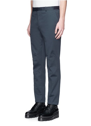 Front View - Click To Enlarge - Balenciaga - Reinforced knee washed cotton pants