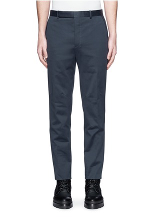 Main View - Click To Enlarge - Balenciaga - Reinforced knee washed cotton pants