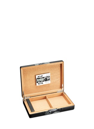 - Siglo Accessory - Snakeskin travel humidor