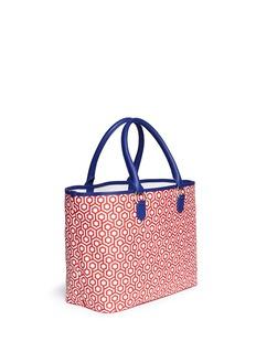 MISCHA'Shopper' hexagon print coated canvas tote