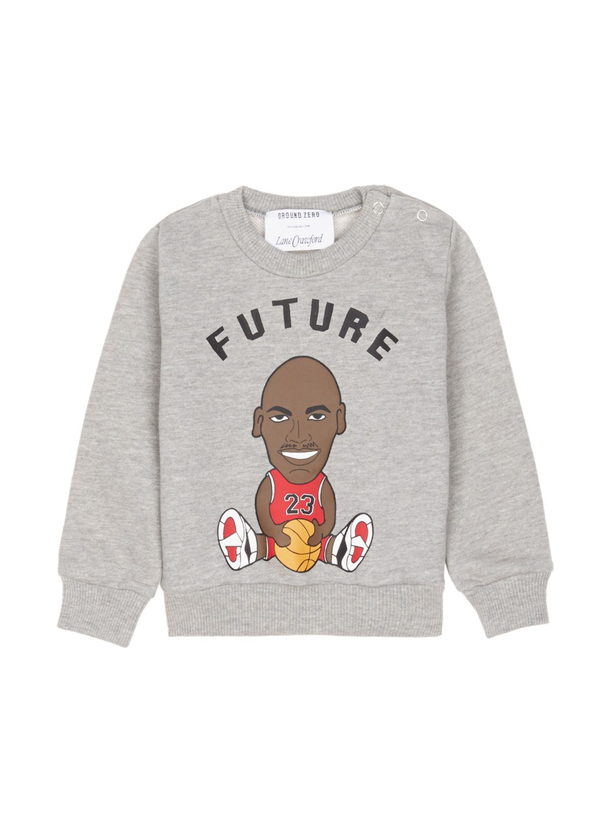 Future Jordan kids cotton sweatshirt by Ground Zero