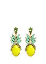 'Ananas' pineapple drop earrings