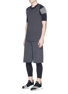 Adidas Day One Jacquard stretch basketball shorts
