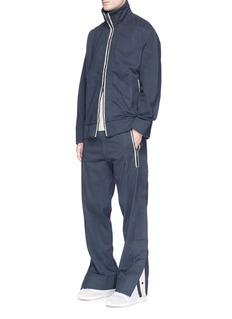 Adidas Day OneBack slit raw edge track jacket