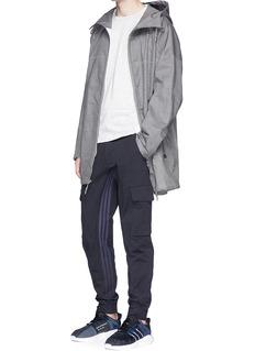 Adidas X Wings + HornsWaterproof cotton-linen parka