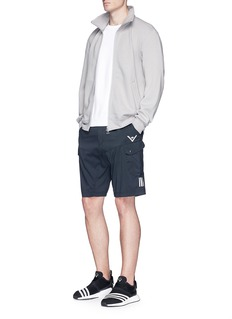 Adidas X Wings + Horns Cotton-linen track jacket