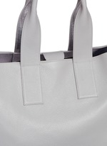 'Carry All' reversible nappa leather tote
